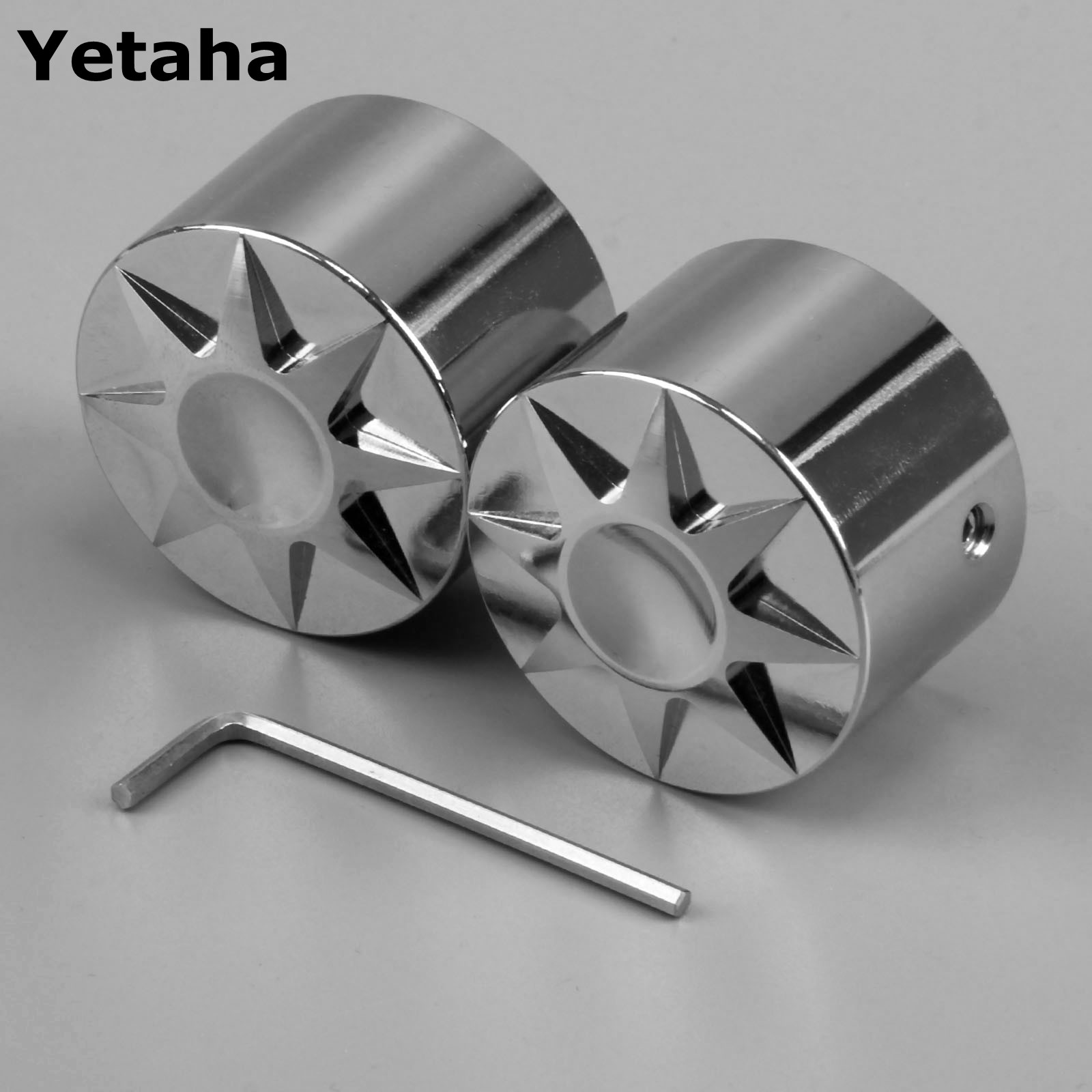1Pair Aluminum Motorcycle Front Axle Nut Cover Cap Bolt Chrome For Harley-Davidson Motorcycle Accessories High Quality NEW abs rear chrome axle cap cover kit motorcycle decorative accessories for harley davidson sportster xl883 1200n 2005 2014 7395