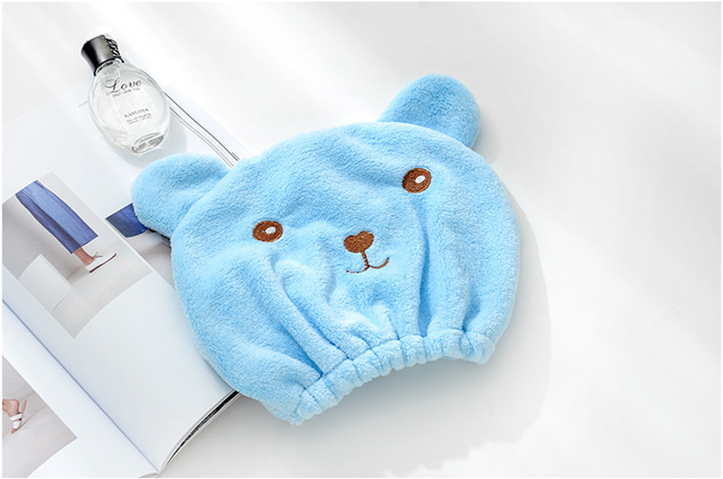 New-Cute-Bear-Bath-Cap-Soft-Microfiber-Hair-Turban-Quickly-Dry-Hair-Hat-Wrapped-Towel-Bathing (3)