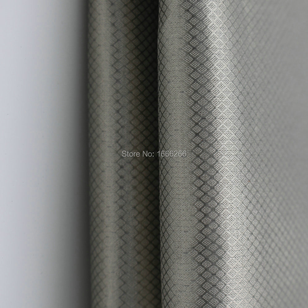 EMI67#R RFID Blocking Emf Electromagnetic fabric Shielding Efficiency 75dB-94dB use for shielding wall 20170809