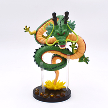 15cm Green Dragon Ball Z Action Figures Shenron Dragonball Set Esferas Del Shelf Figuras Free  Shipping