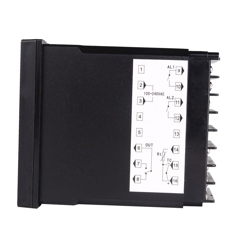 Digitaalne PID-temperatuuri kontroller RKC REX-C400 Universaalse - Mõõtevahendid - Foto 4