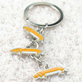 Free shipping dog Keychain dachshund Keychain birthday gift to send to friends