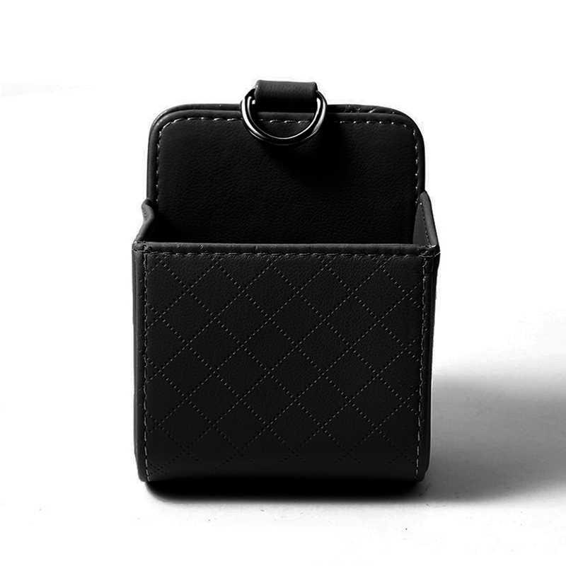 Автомобильная многофункциональная сумка для хранения, авто выход, чехол для телефона, автомобиль, кондиционер, карман для переноски