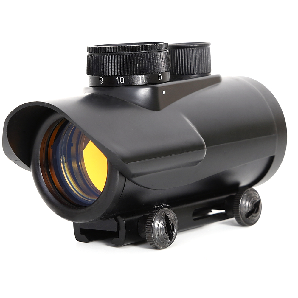 HD40X Red Dot Sight Scope Holographic Tactical Riflescopes 11 Levels Brightness Control Airsoft Rifle  Optical Sight For Hunting