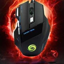 Проводная точек/дюйм компьютерная оптическая проводной игровой мышь мыши оптом светодиодная кнопка