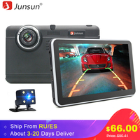 Junsun 7 Car DVR 1080p Video Recorder WIFI Camera Dvrs Dash Cam Android 4 4 GPS