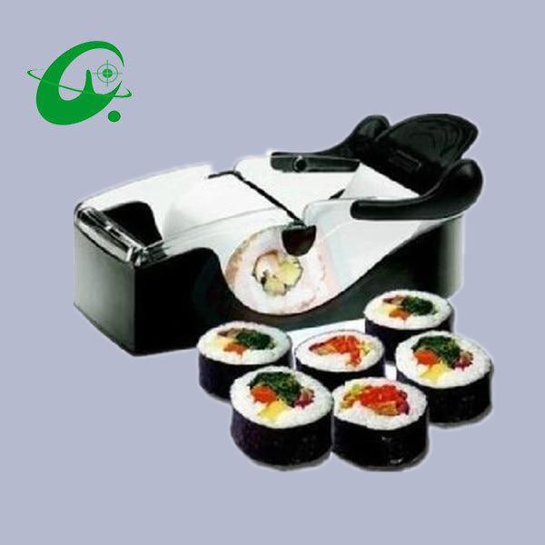 DIY Easy Sushi Maker Cutter Roller sushi maker roller equipment translucent white black