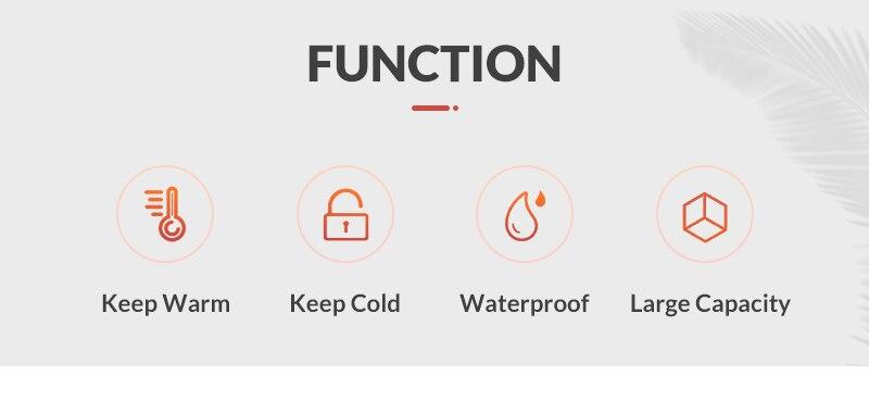 para as mulheres funcional isolado caixa térmica