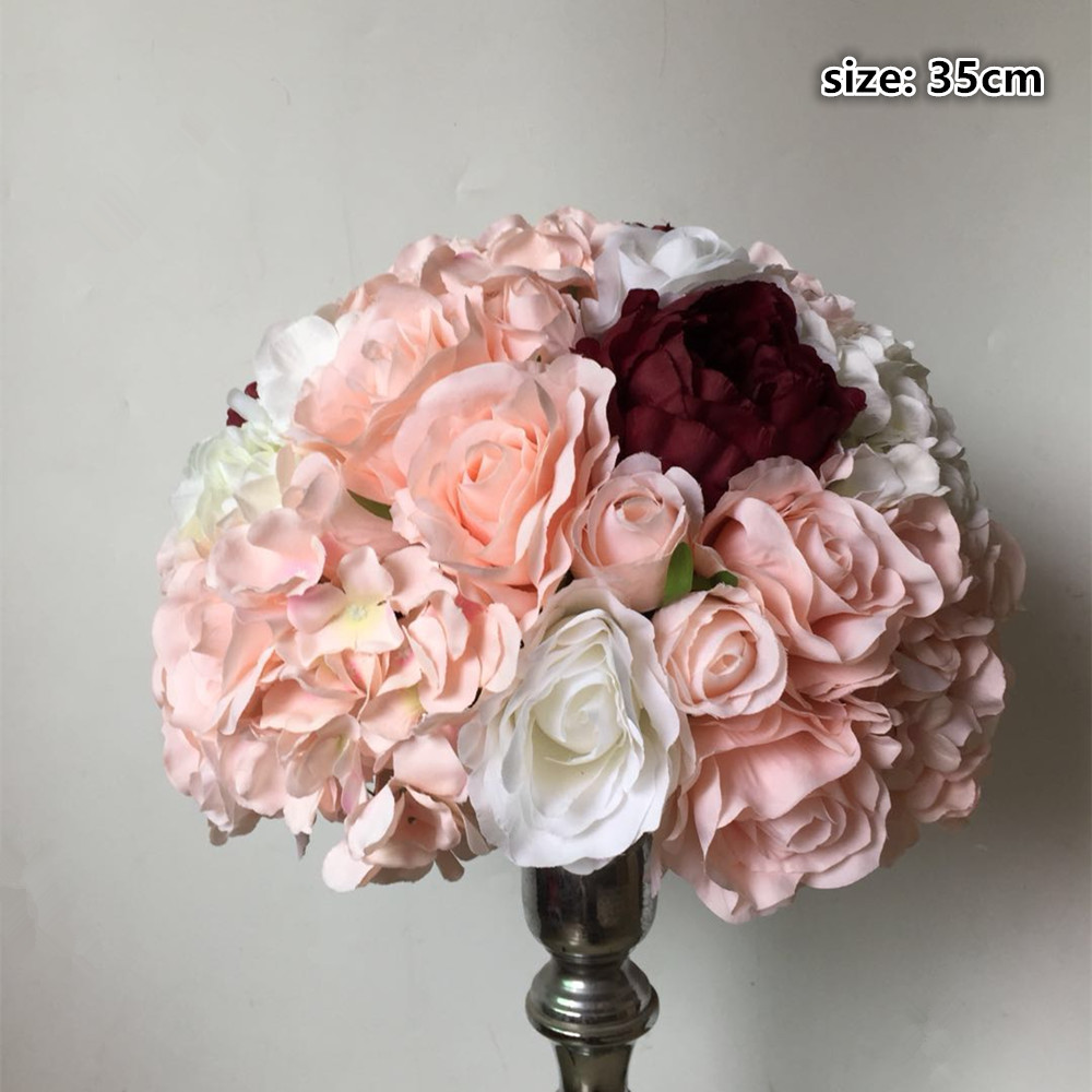 Aliexpress.com : Buy Table centerpiece flower balls wedding road ...