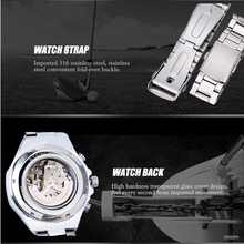 Men's Stainless Steel Mechanical Automatic Watch Multi Colors