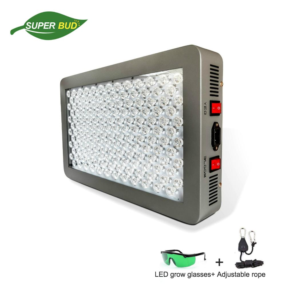 Original P450 LED Grow Light 450w 12-band LED Grow Light - DUAL VEG/FLOWER FULL SPECTRUM For Indoor Plants Grow Tent Greenhouse