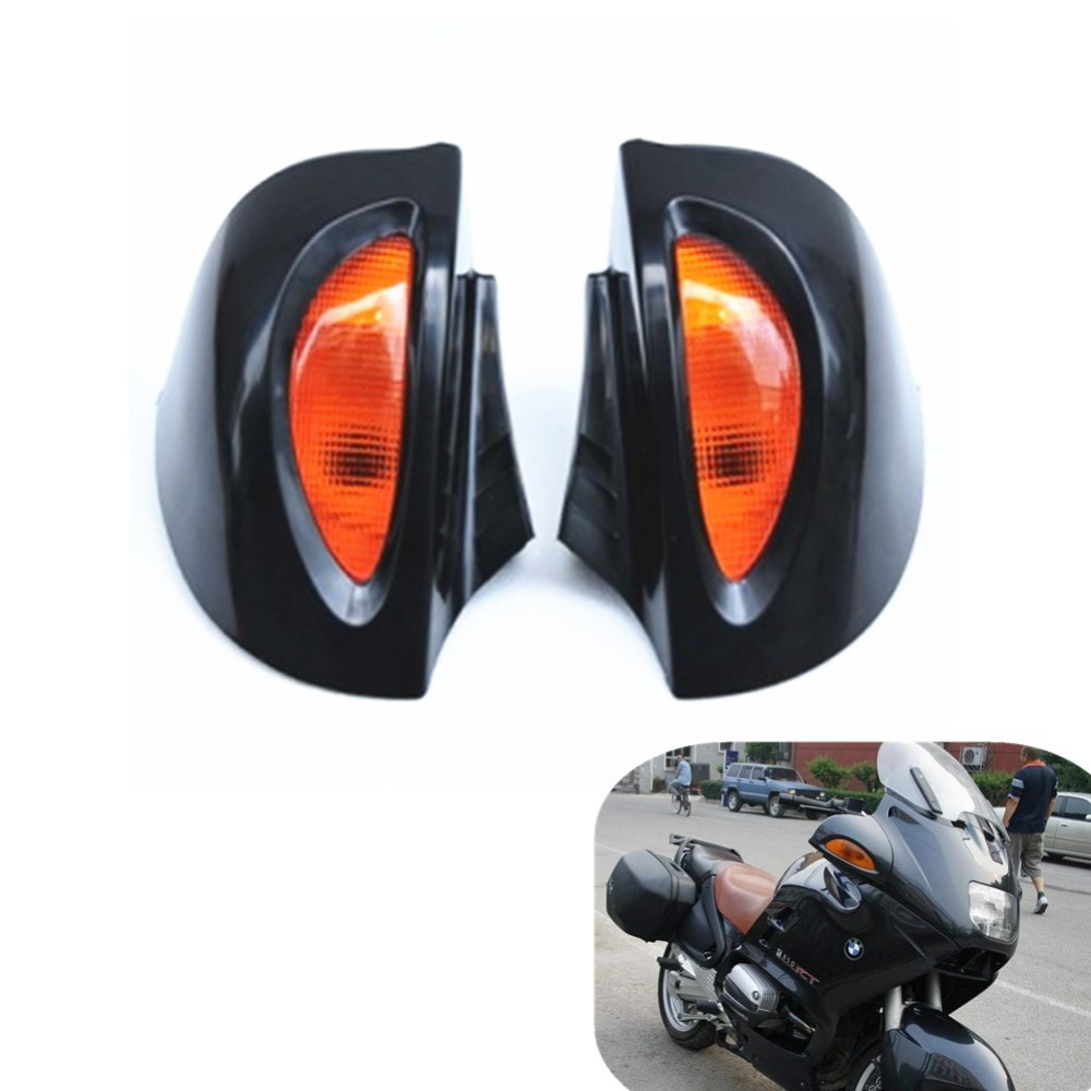 3 Colors Signal Lens Rearview Glass Side Mount Mirrors for BMW R 850 1100 1150 RT