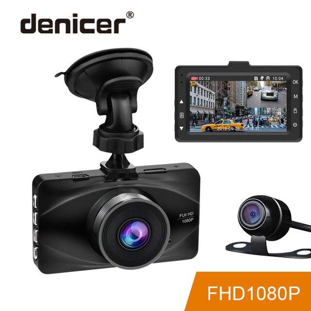 Denicer MD20L Dual Lens Car Dvr Camera Full HD 1080P Video Recorder 3 Inch Screen Car Vehicle metal shell Registrar Dash Cam