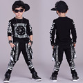 Big Boys Sports Suits Cotton Clothing Sets Boys Tracksuits printing Hip Pop Outfits Teenage Kids Sportswear 4 6 8 10 12 14 years