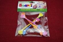 100 pcs/lot  Baby Snappi original Cloth Diaper Fasteners Infant Diaper Belt Buckles