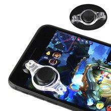 Tablettes légères en plastique Mini contrôleur de tir Durable réutilisable lavable jeu déclencheur Mobile jeu Rocker couleurs aléatoires