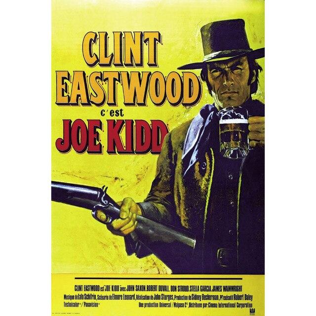 J1339 JOE KIDD Clint Eastwood Western Movie Pop 14x21 24x36 Inches ...