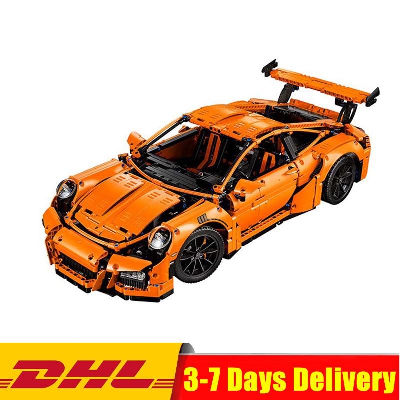 купить Fit for Legoingly 42056 Technic Series Racing Car DIY Set Educational Building Blocks Bricks Toys Model Birthday Gift for Boy онлайн