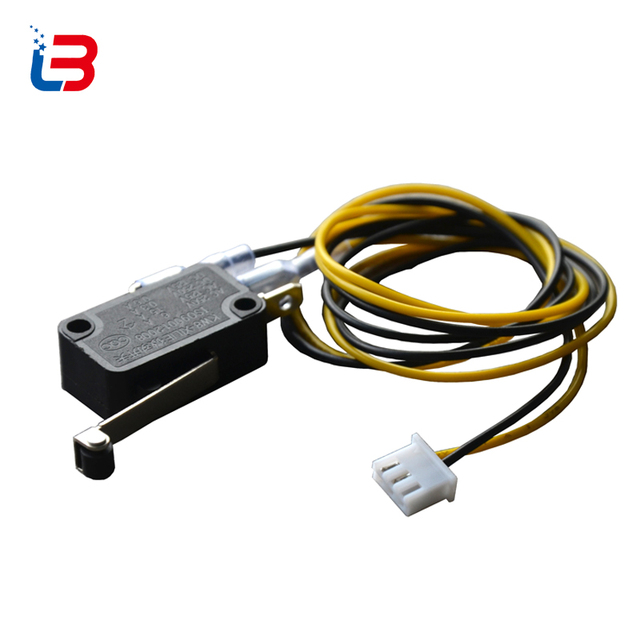 tronxy 3d printer part limit switch kw8 xilie roller lever endstoptronxy 3d printer part limit switch kw8 xilie roller lever endstop for 3d printer with wiring com and no 250 125v 6 15 0 3 0 6 a
