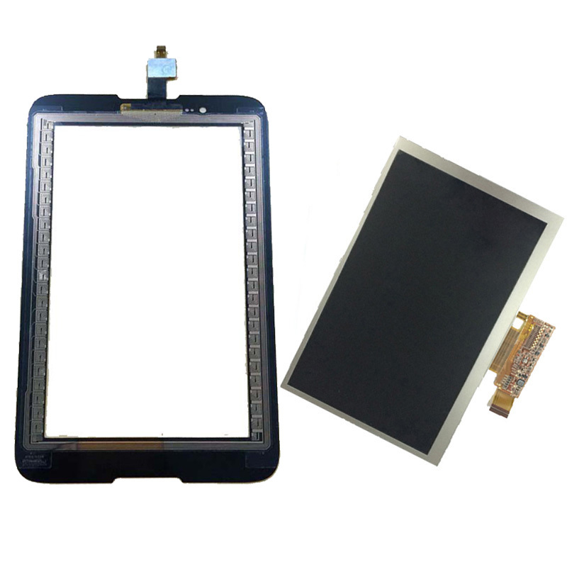 For Lenovo Tab A7-30 A3300 A3300T A3300-GV A3300-HV Touch Screen Digitizer Sensor Glass + LCD Display Screen Panel Monitor srjtek parts for lenovo a3300 a3300t a3300 hv lcd display touch screen digitizer panel monitor assembly with frame replacement