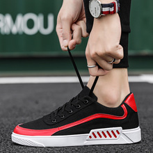 Men Shoes 2019 New Spring Black Casual Male Sneakers Cool Street Brand Canvas for Footwear
