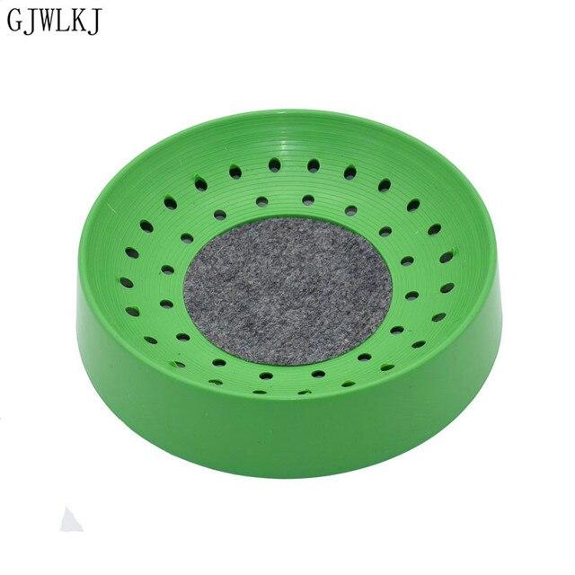 비둘기 용품 플라스틱 dehumi dification 번식 조류 계란 그릇 패드 자연 섬유 잔디 그릇 공급 사육 그릇 1 pcs