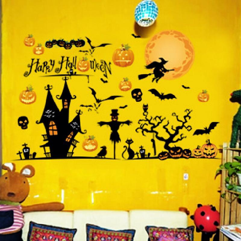 Contemporary Halloween Wall Decor Ensign - Wall Art Collections ...