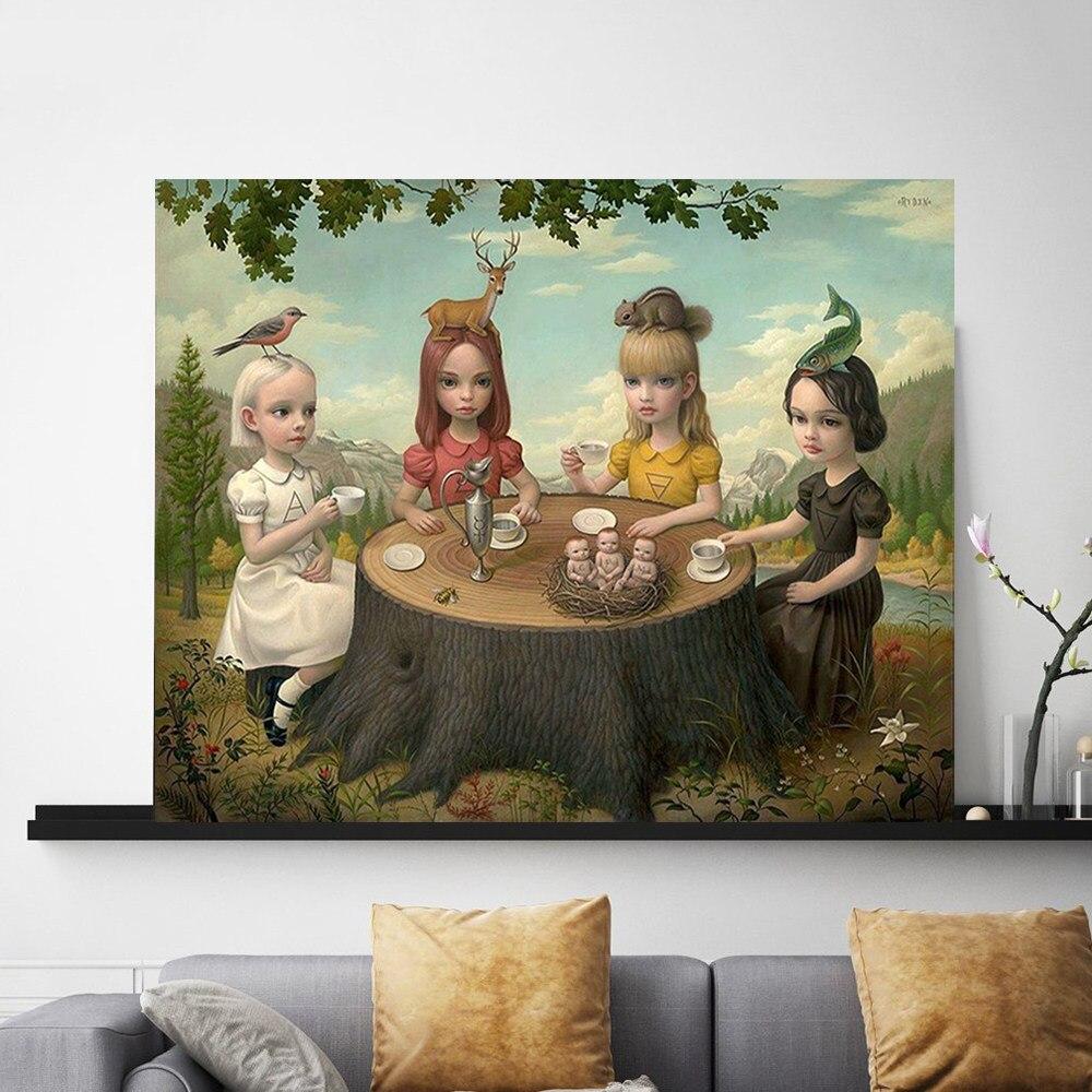 マークライデンゲイ 90s 壁紙アートキャンバスポスターの絵の壁絵