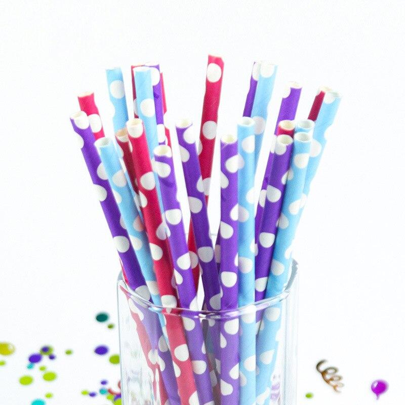 25 unids Puntos de colores de la boda cumpleaños decoración del partido del acon