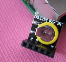 DS3231 Real Time Clock Module 3.3V/5V with battery For Raspberry Pi Free shipping(China (Mainland))