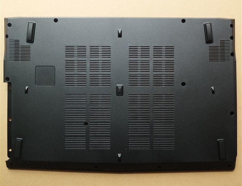 New Bottom Base Cover For MSI GE62 16J1 Laptop Bottom Base Lower Case Cover Black new laptop bottom for lenovo g550 base cover lower case black 31038435 ap07w000g00