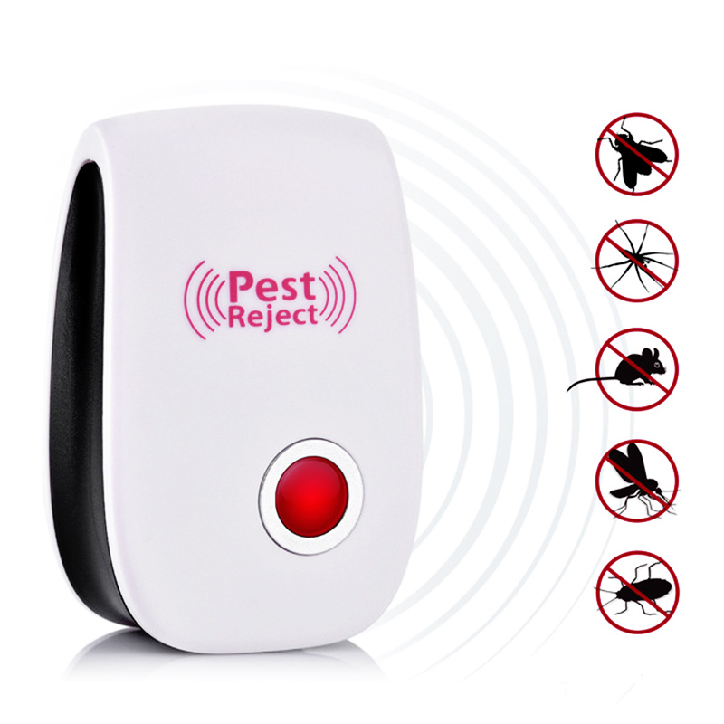 Electronic Ultrasonic Pest Repeller Pest Reject Mosquito Insect Killer Rat Mouse Cockroach Pest Reject Repellent EU/US Plug