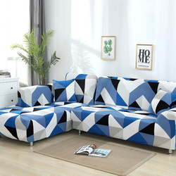 Colorful Printing Elastic Stretch All-inclusive Sofa Cover Polyester Washable Universal Furniture Slipcover For Living Room