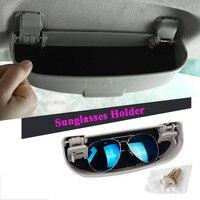 Car Styling Sunglasses Holder Eyeglasses Storage Box Case For Mitsubishi Asx Lancer 10 9 Outlander Pajero