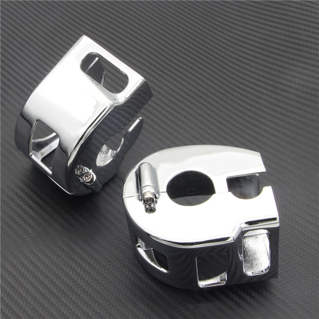 US $19 66 9% OFF RPMMOTOR CHROME BILLET SWITCH HOUSING COVERS for Yamaha V  Star 650 Custom (not Classic or Silverado)-in Covers & Ornamental Mouldings