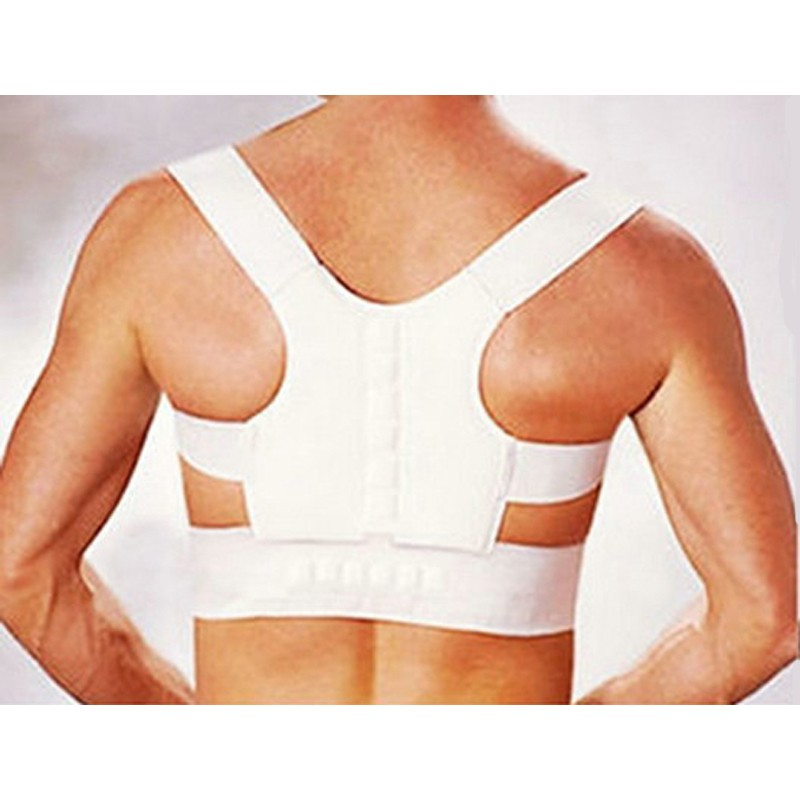 Men's Women's Magnetic Back Posture Corrector Shoulder Support Brace Back Support Orthopedic Corset Back Corrector AFT-B001 4