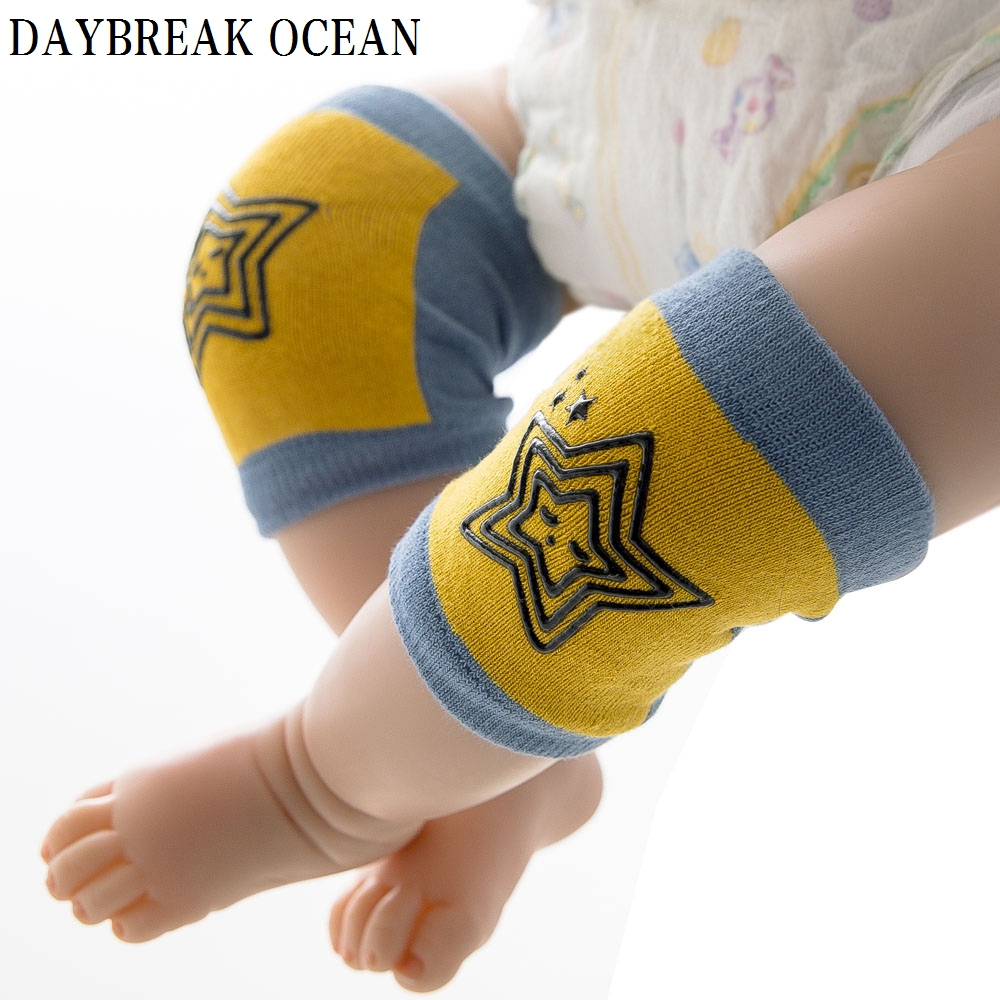 6 Pairs Toddler Kids Kneepad Protector Soft Thicken Terry Non-Slip Dispensing Cotton Baby Leg Warmers Well Knee Pads For Child