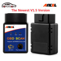 High Quality ANCEL OBD2 ELM327 Bluetooth V1.5 For Android OBD EOBD Car Error Code Scanner Car tools elm 327  For Cars After 2005