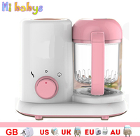 Electric Baby Food Maker Toddler Blenders Steamer Processor Multi function Infant Fruit Vegetable Grinding Machine Mixer
