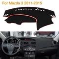 2016 Car Styling Dashboard Protective Mat Shade Cushion Photophobism Pad Interior Carpet For Mazda 3 M3 2011-2015