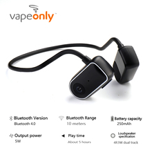 Vapeonly Bone Conduction Bluetooth Headphone Wireless Sport Headset Waterproof IPX5 Stereo Earphone With Microphone newest bone conduction bluetooth headphone sports headset stereo bass earphone with microphone usb wireless headphones