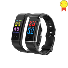 Smart watch Heart Rate Monitor Blood Pressure Sport Waterproof SmartWatch Wrist Fitness Tracker for Android IOS pk mi band m3 smart fitness sport smart watch blood pressure heart rate monitor bracelet band monitor smartwatch fo ios android pk miband 3 m3