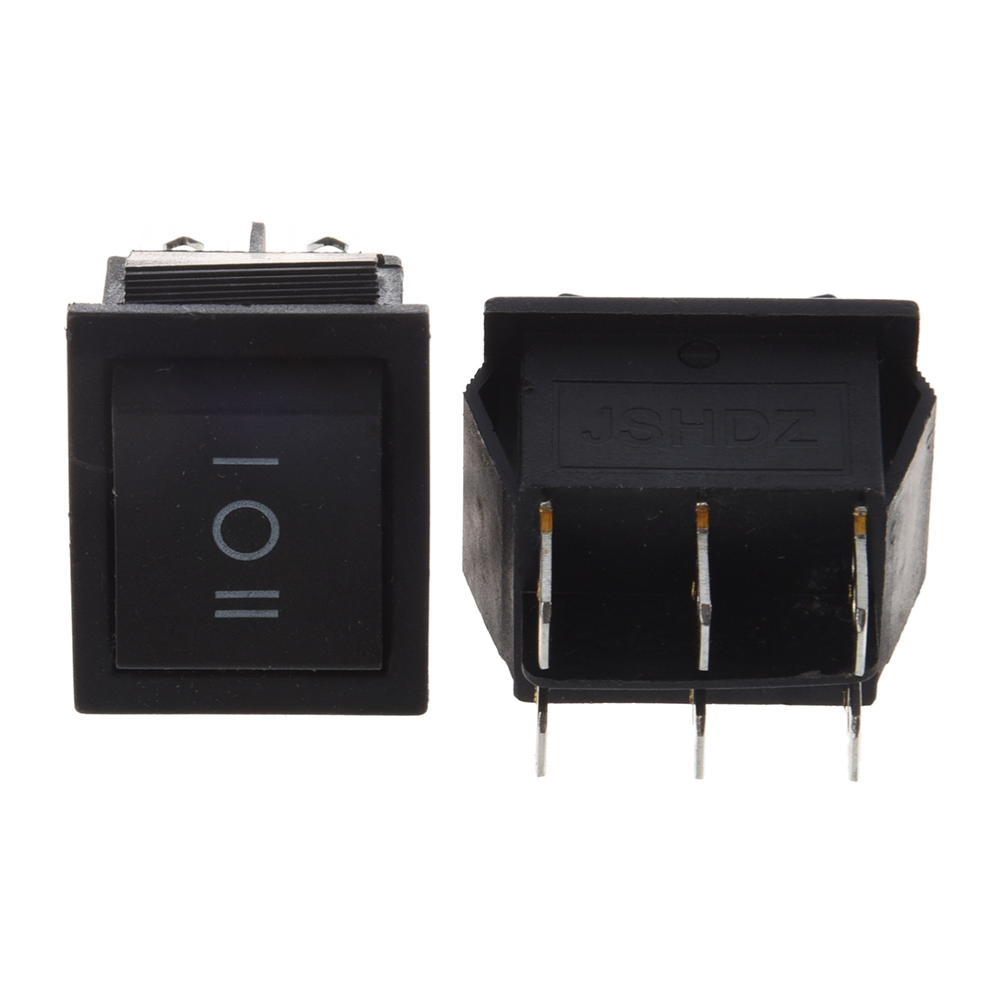 Popular Brand 2pcs 6 Pin Dpdt On-off-on 3 Position Snap In Rocker Switch 15a/250v 20a/125v Ac Dropshipping Delicious In Taste Lighting Accessories Lights & Lighting