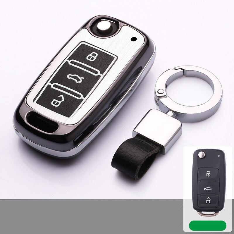 Aluminum-alloy-Car-Key-Case-for-cover-for-VW-Volkswagen-polo-passat-b5-golf-4-5 (2)