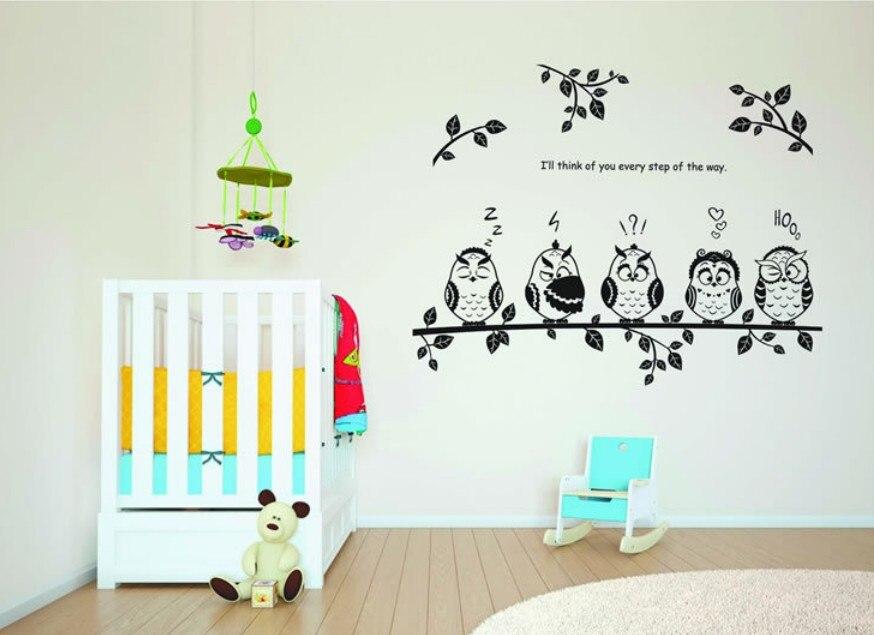 Super Deal cartoon decals wall art diy children sticker Kids Vinyl - Home Decor - Photo 5
