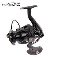 TSURINOYA 4000 5000 Spinning Fishing Reel 8+1BB Gear Ratio 5.2:1 Metal Spool Lure Reel Carretes De Pescar Reels