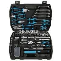 112pcs/set Truck maintenance tool Auto repair car kit kit Multi purpose repair kit Portable socket wrench repair tools