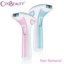 CosBeauty Home Use IPL Hair Removal Device 100000 Light Pulses Depilatory Laser Hair Epilator Whole Body Permanent Hair Removal