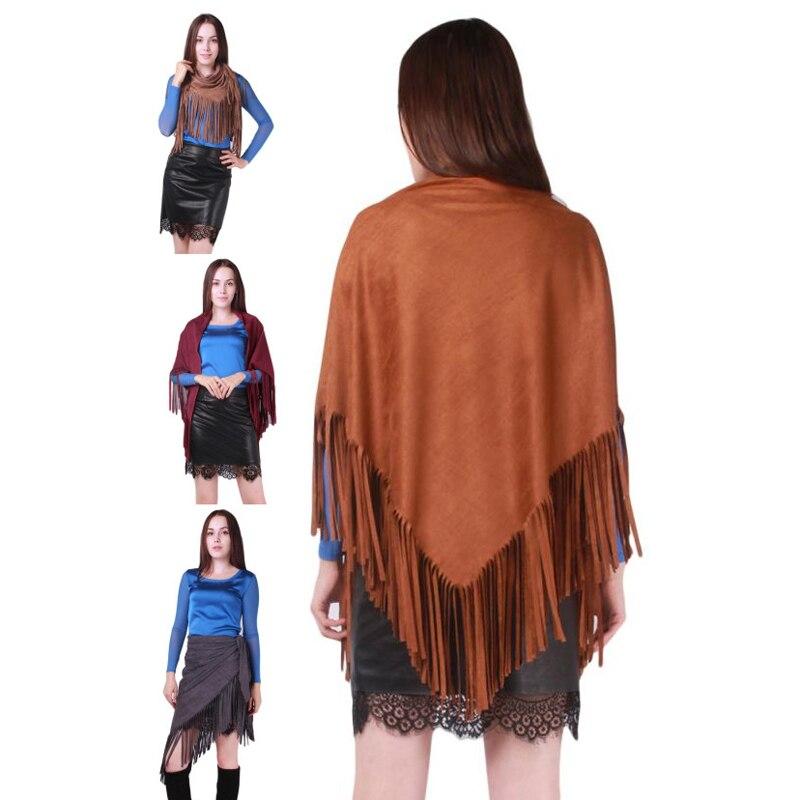 mujeres largo grande bufanda pashmina caliente elegante chal suave abrigo de colores de la borla de lana otoo invierno moda d