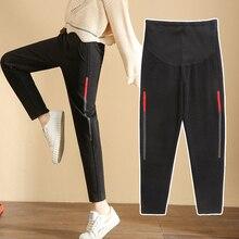 Осенние и зимние корейские женские брюки с модным животом, шерстяные брюки, тонкие прямые брюки